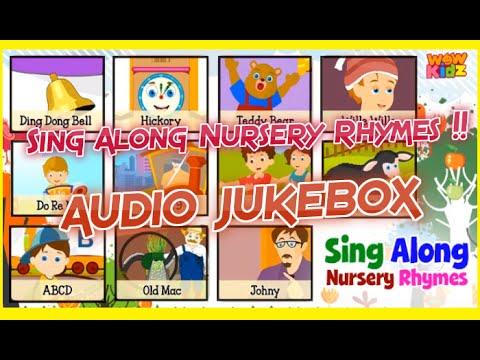 Sing Along Nursery Rhymes Audio Jukebox For Children Kids