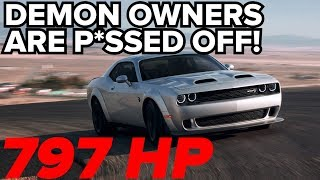 797HP 2019 Hellcat Redeye UNVEILED! | What's this mean for Demon owners?