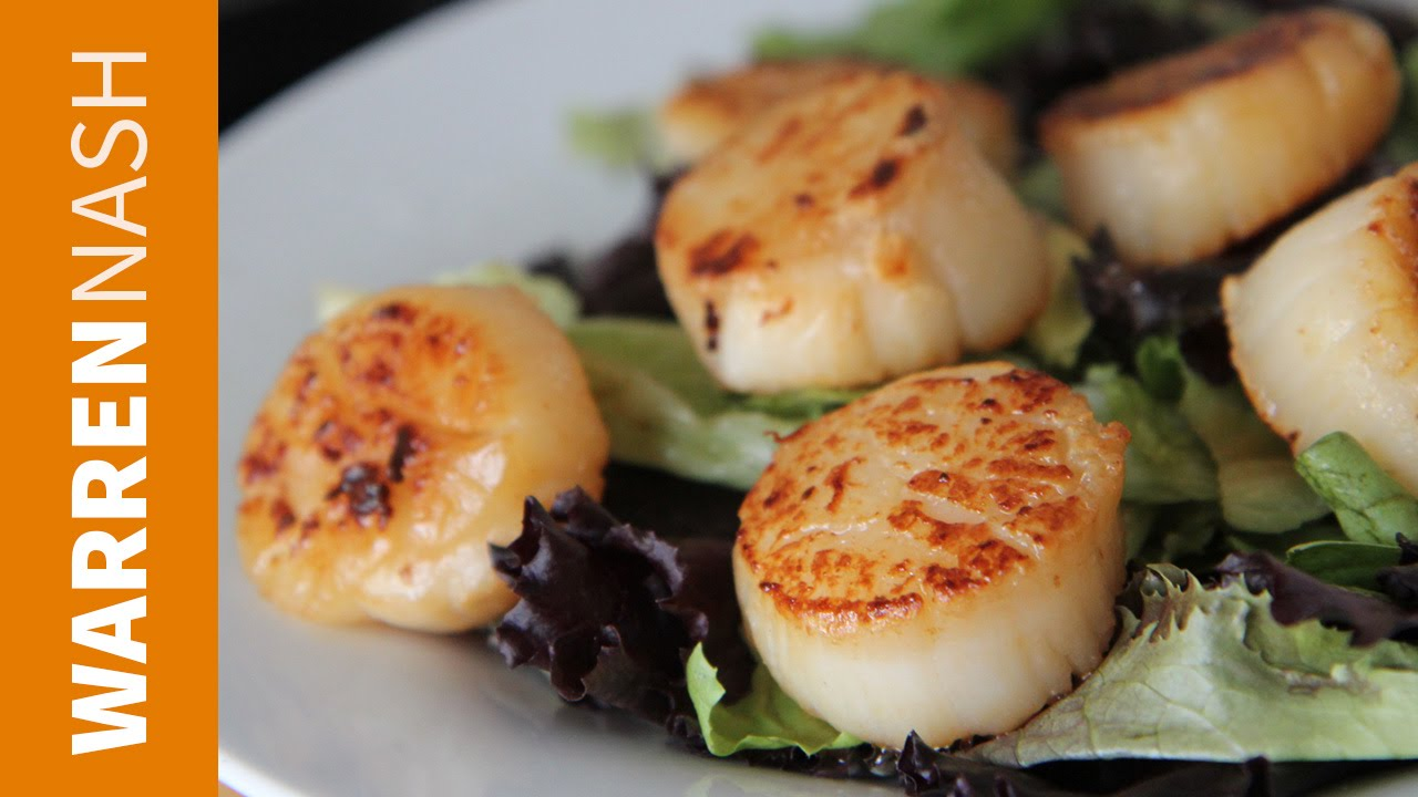 how to cook stingray scallops