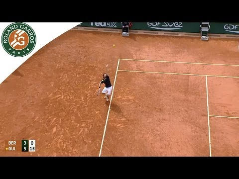 Ernests Gulbis V Tomas Berdych Highlight - Men's Quarterfinals 2014 - Roland Garros