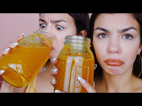 7 Day TURMERIC CLEANSE For Clear Skin - YouTube
