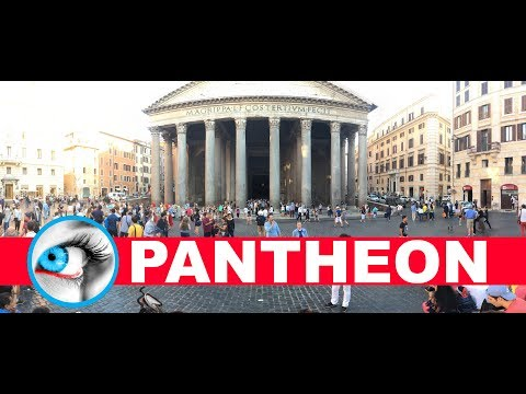 THE PANTHEON - ROME - ITALY - 4K 2017 Video