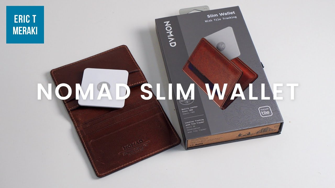 nomad slim wallet tile edition review the minimalist wallet