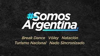 #SomosArgentina – Hoy Break Dance, Turismo Nacional, Natación, Nado Sincronizado y Vóley