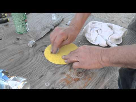 Repairing Marine Engine Oil Pan Corrosion