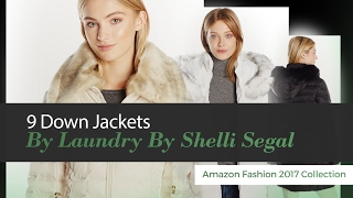 9 Down Jackets By Laundry By Shelli Segal Amazon Fashion 2017 Collection