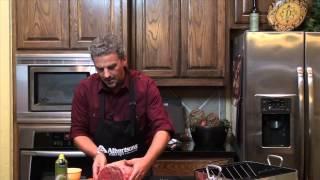 Albertsons Market Herb Seasoned Rib Roast With Red Wine Sauce