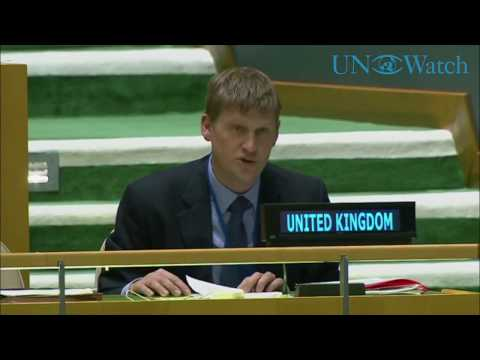 UK breaks with EU, votes No on Syrian-backed U.N. resolution condemning Israel for Golan