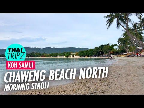 Chaweng Beach - Morning - Koh Samui - 4K