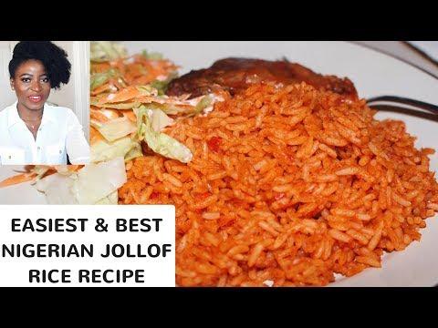BEST NIGERIAN JOLLOF RICE RECIPE | Kenny Olapade