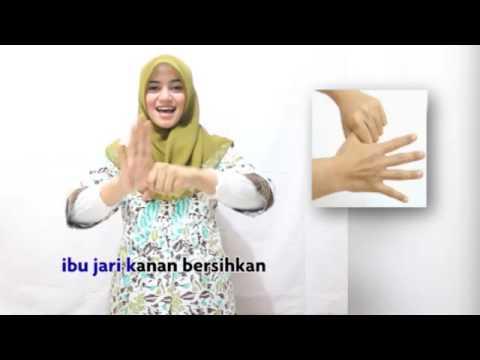 6 Langkah Mencuci Tangan yang atraktif