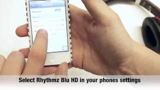 How To Use The Rhythmz Blu HD Bluetooth Headphones