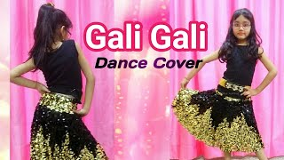 KGF Gali Gali dance cover   Neha Kakkar  Mouni Roy  Abhigyaa Jain a chashmish dancer
