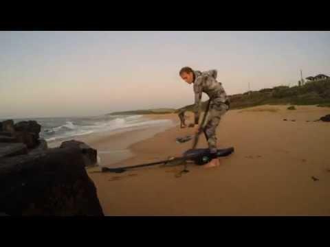 Spearfishing Durban South Coast.