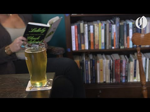 Portland's Rose City Book Pub, a bookstore and bar, now open