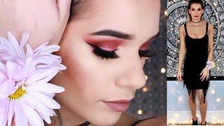 PROM Makeup Tutorial!! Cranberry Eyes (Talk Through)