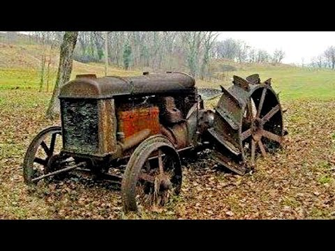Смотреть Old Tractors - First Start In Many Years | Diesel Engine Cold Start After Years онлайн