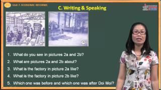 English lớp 12 - Unit 7 - Economic Reforms - Writing - Speaking