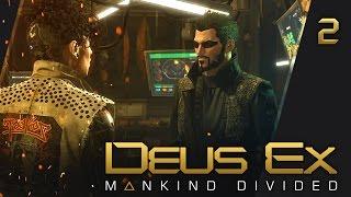 прохождение Deus Ex: Mankind Divided - #2 Секретные аугментации