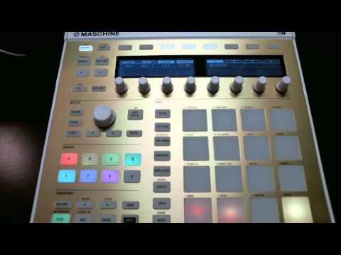 Comin Thru - Nicky Ruthless  (Maschine Mk2)