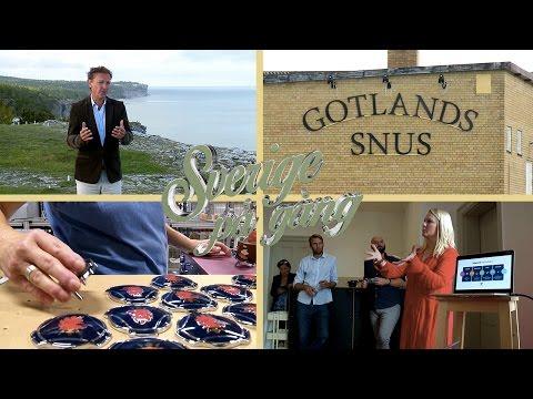 Gotland – högtryck året runt   Sverige på gång
