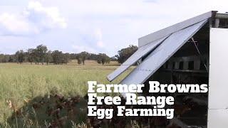 Farmer Browns Free Range Egg Farming