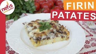 Parmak Yedirten Lezzeti ile Fırın Patates Tarifi  - Nefis Yemek Tarifleri
