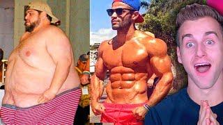 Download Reacting To Insane FAT to LEAN Body Transformations (UNREAL) Mp3 and Videos