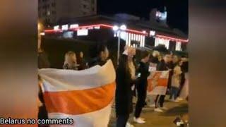 Вечером в «Лебяжем» выстроилась цепь солидарности, случился разгон.