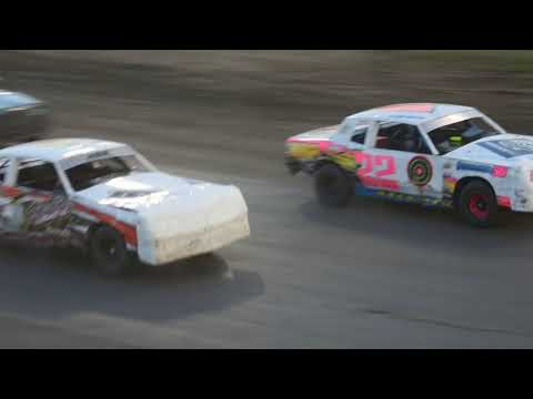 Part 1 of the Hobby Stock A Feature @ Eagle Raceway on 07/062019
