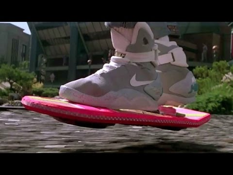 'Back to the Future' self lacing shoes now a re