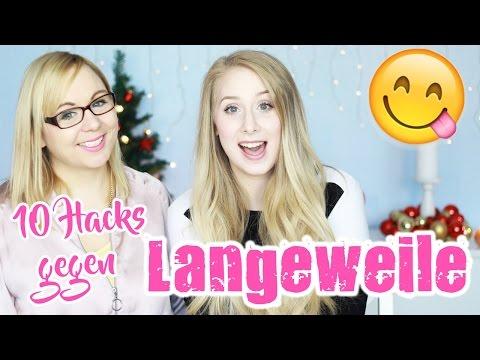10 HACKS GEGEN LANGEWEILE mit Maren Vivien + GEWINNSPIEL / By GossipGold