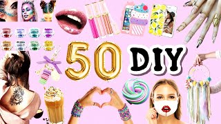 50+ Things To Do When You're Bored at HOME -GIRL CRAFTS YOUTUBE REWIND 2020 -Best Girl Crafts Videos