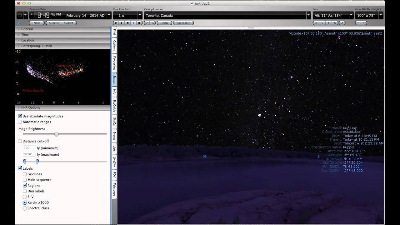 Hertzsprung russel diagram starry night pro plus 6 youtube hertzsprung russel diagram starry night pro plus 6 ccuart Choice Image