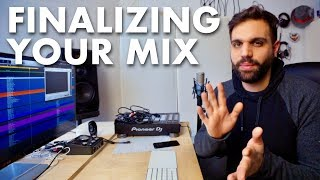 HOW TO MIX TUTORIAL #4 - getting the last 5% right