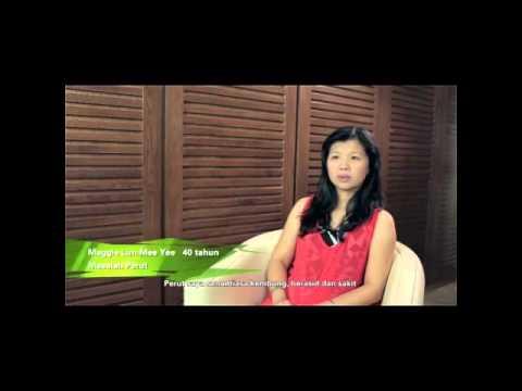 Testimoni Spirulina Organik: Maggie Lim (Masalah Perut)