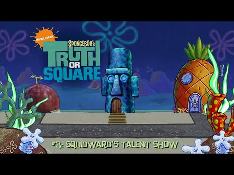 Spongebob's Truth or Square - Part 3: Squidward's Talent Show (HD PSP Gameplay)