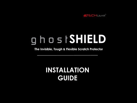 TECHGEAR GhostSHIELD Screen Protector Installation Guide For Samsung Galaxy S7