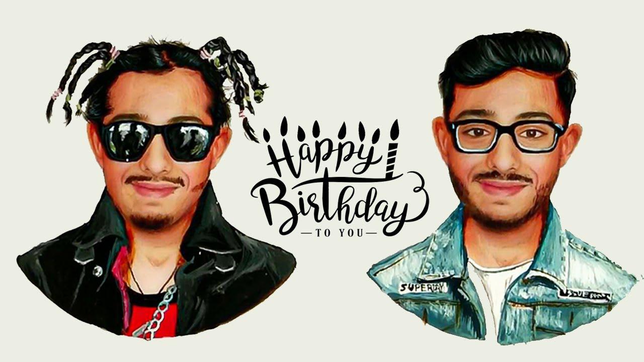 Happy Birthday CarryMinati | RK Aadil | Journey Art