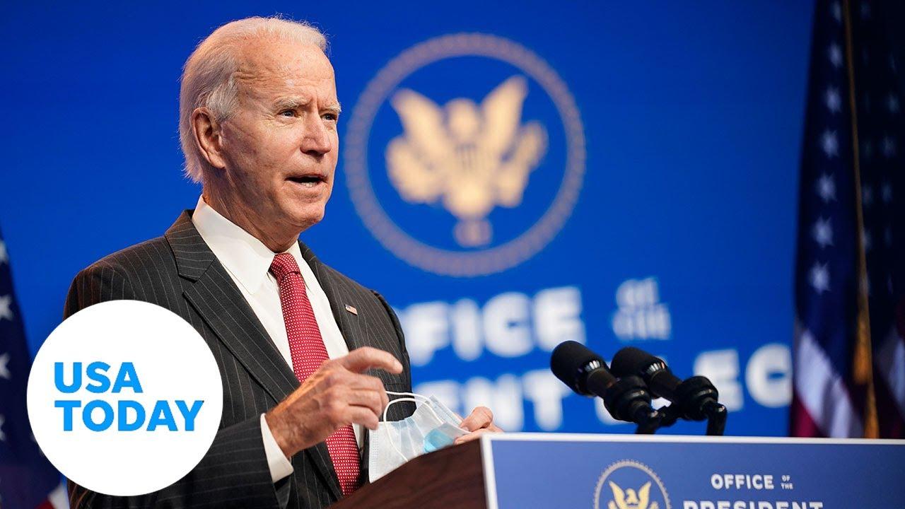 President-elect Joe Biden gives a Thanksgiving address   USA TODAY