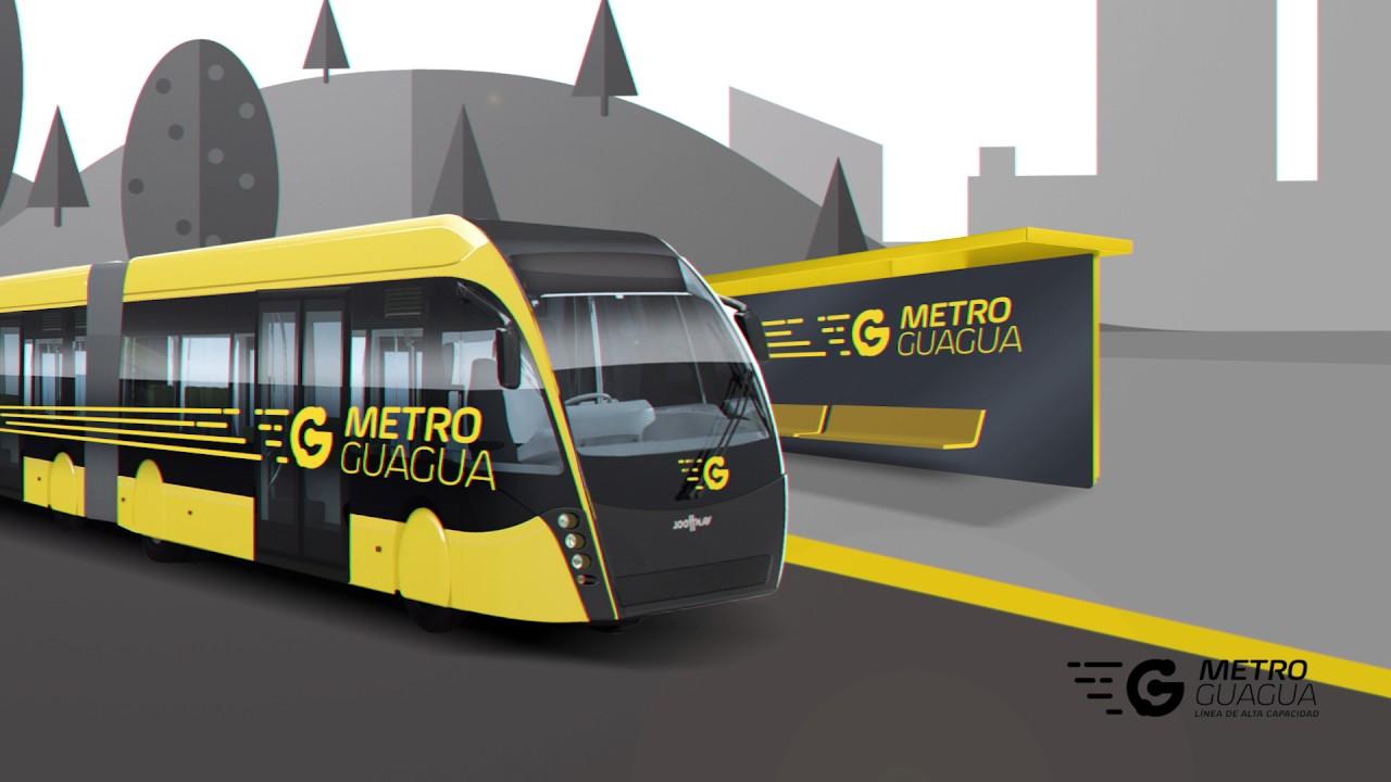 metroguagua, de guaguas municipales - youtube