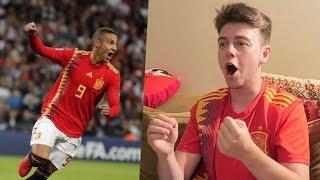 REACCIONANDO A INGLATERRA 1-2 ESPAÑA | Uefa Nations League