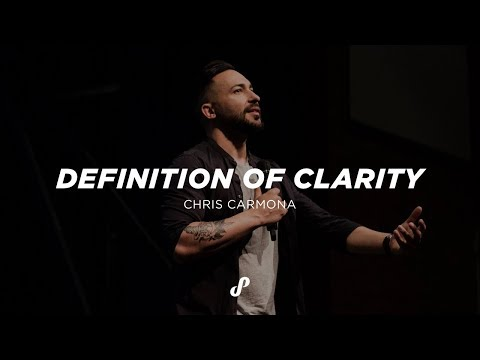 DEFINITION OF CLARITY