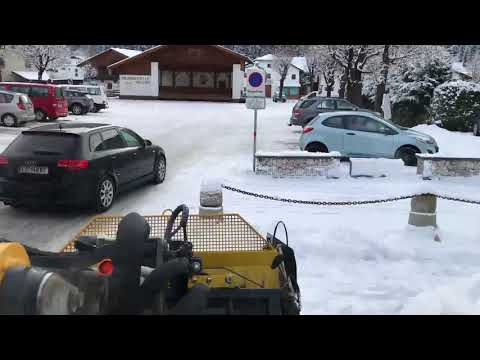 Winterdienst kleiner Schnee