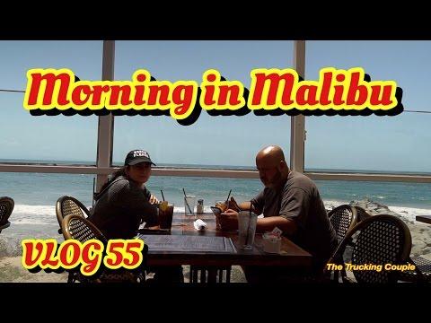 Morning in Malibu, Drinking Death Wish coffee on the beach. Drone Flight over Malibu.