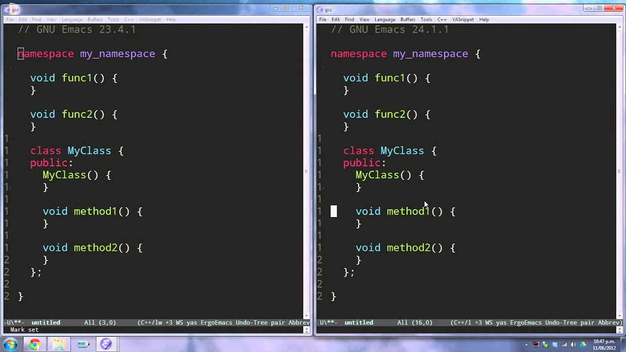 Emacs 24 1 New Features (released 2012-06)