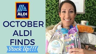 Fall Finds at Aldi | October 2018 Healthy Grocery Shopping Haul