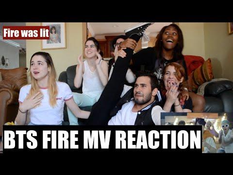 Aka Reacts! Bts 방탄소년단 Fire 불타오르네 Mv Reaction
