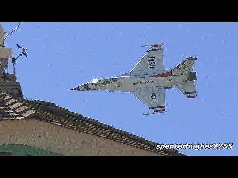 NICE PASSES! 2018 Thunderbirds Huntington Beach Pier