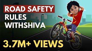 TIPPS | Straßenverkehrssicherheit Regeln für Kinder | Shiva Cartoon | Indien